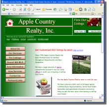 Apple Country Realty ayer ma