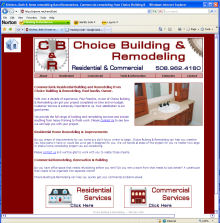 Choice remodeling and building